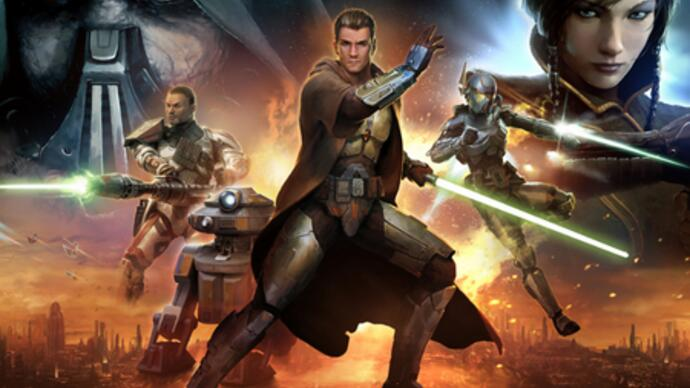Star Wars: The Old Republic - Test