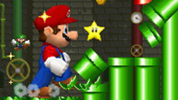 Nintendo announces new side-scrolling 3DS Mario game