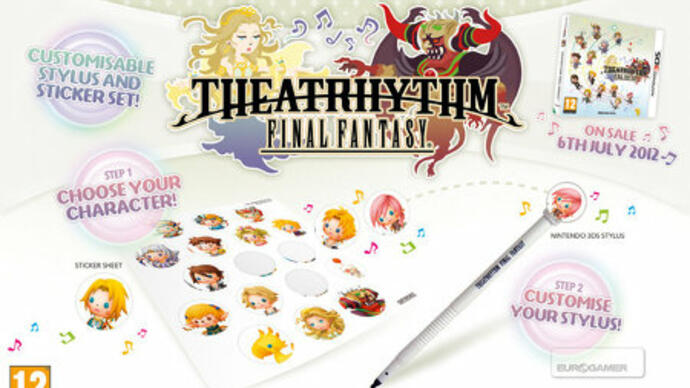 Theatrhythm Final Fantasy release date, pre-order bonuses announced