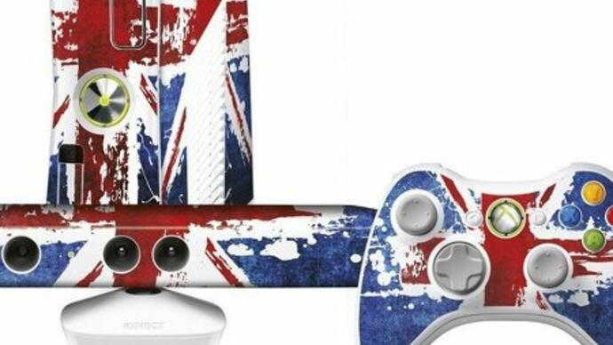Release date for Union Jack-painted Xbox 360 4GB Celebration Pack