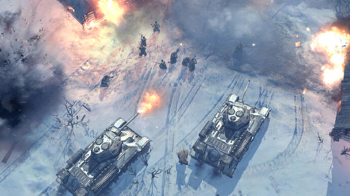 First Company of Heroes 2 trailer goes over the top
