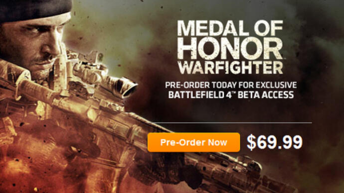 EA announces Battlefield 4 with Medal of Honor pre-order bonus