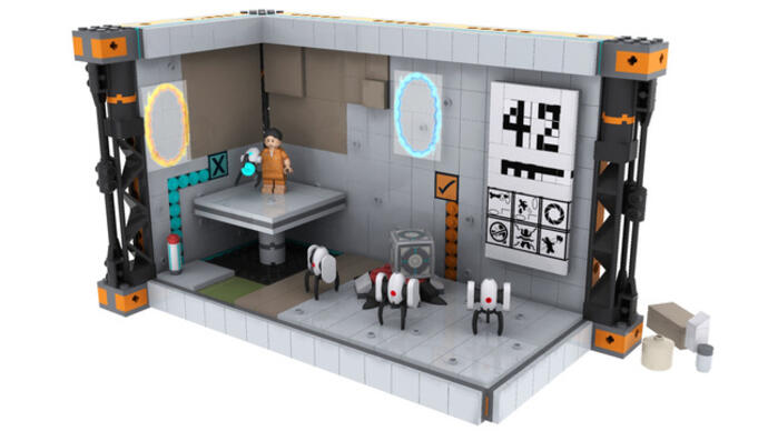 Portal Lego set goes intoreview