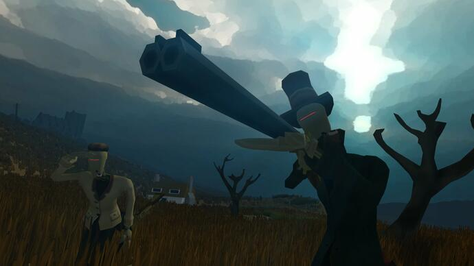 First-person survival game Sir, You are Being Hunted debuts teasertrailer