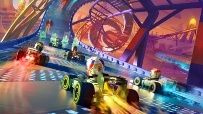 F1 Race Stars Preview: F1 Meets Mario Kart