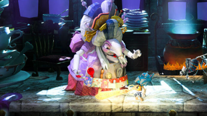 The Ever-Shifting Stages of PS3 ExclusivePuppeteer