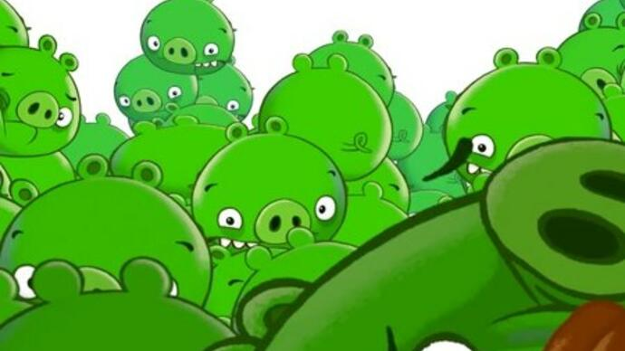 A release date for Bad Piggies: the new game by Angry Birds bunch