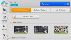 And there it is, FIFA 13 for £14.99. Thanks to Richard Leadbetter's Mii for the images.