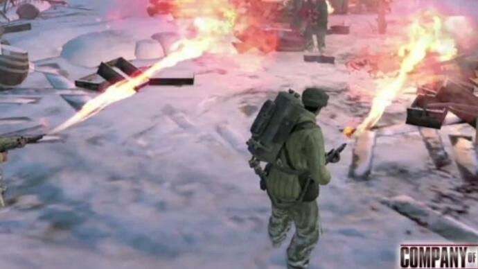 New Company of Heroes 2 trailer goes boom