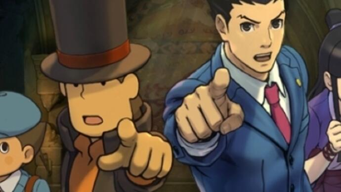 Professor Layton vs. Ace Attorney gets a Japanese launch trailer