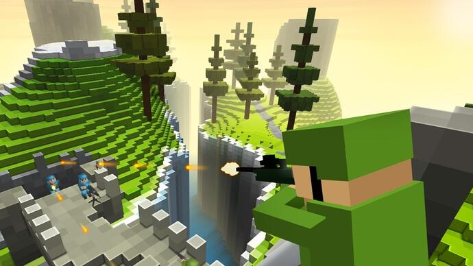Minecraft-style FPS Ace of Spades release date 12th December