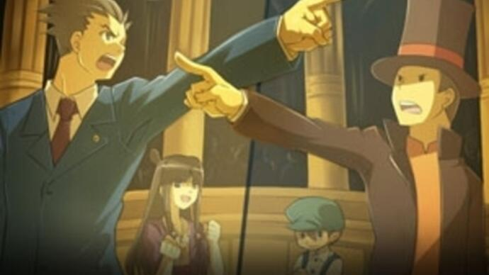 Professor Layton vs. Ace Attorney gets a TGS trailer