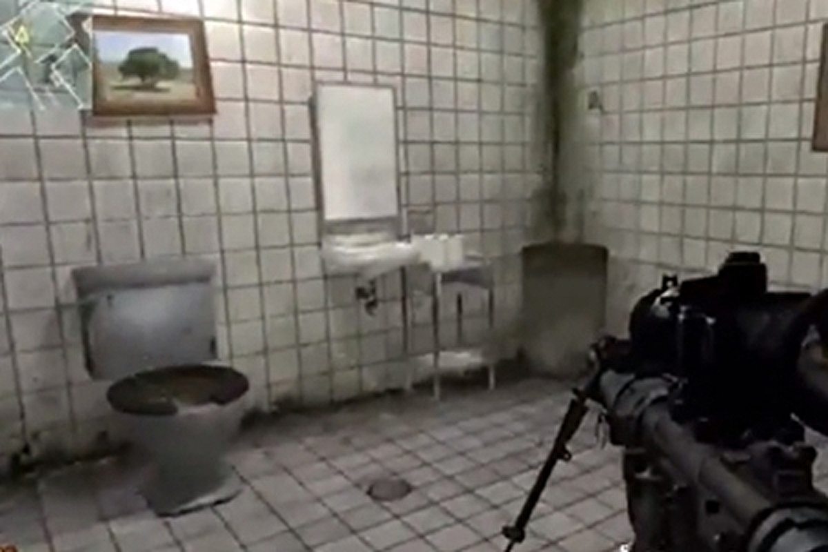 Painting on wall of Modern Warfare 2 toilet upsets some Muslims