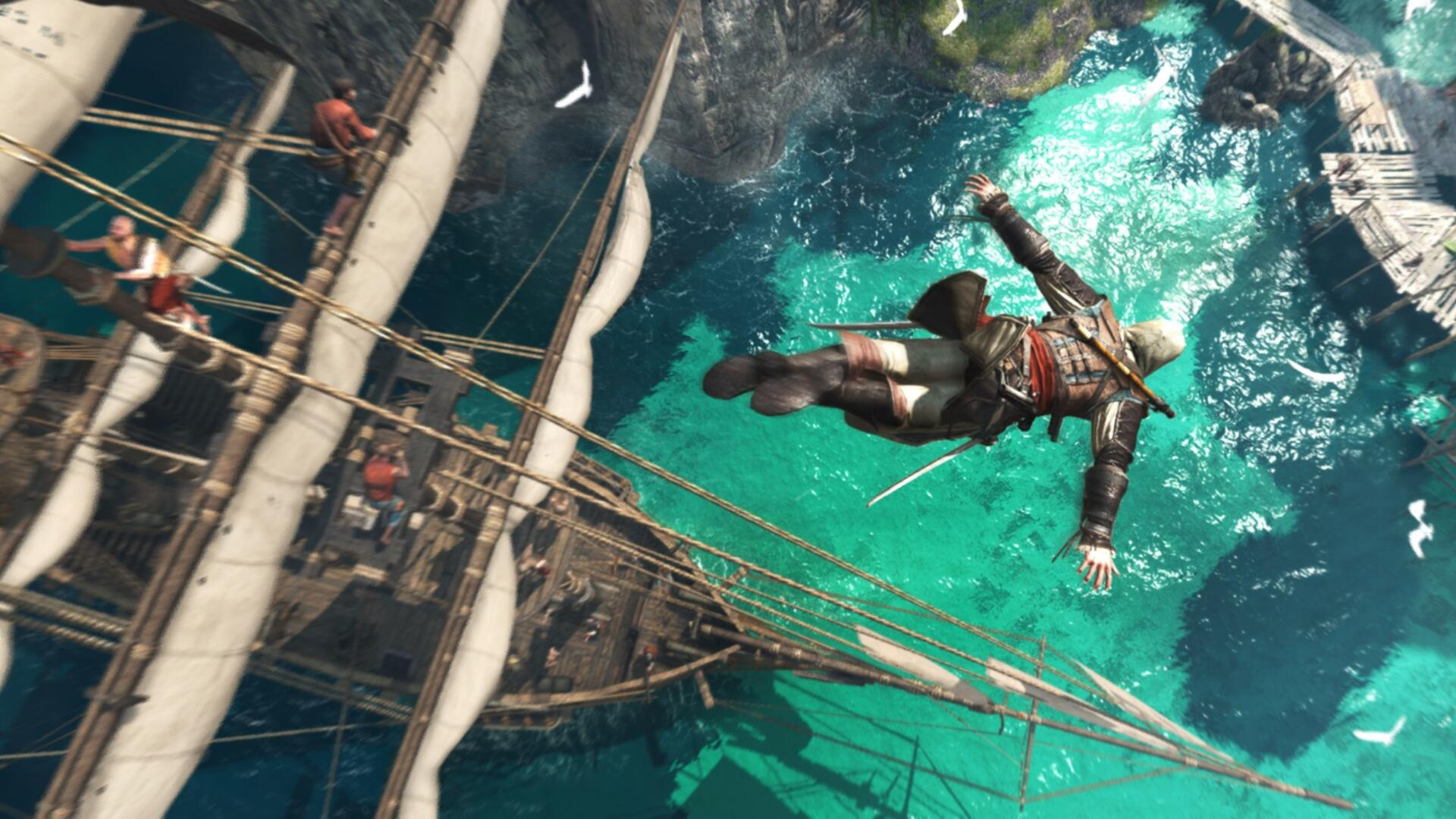 """Assassin's Creed IV for PS4 Features """"Improved"""" Graphics and Vita Remote Play"""