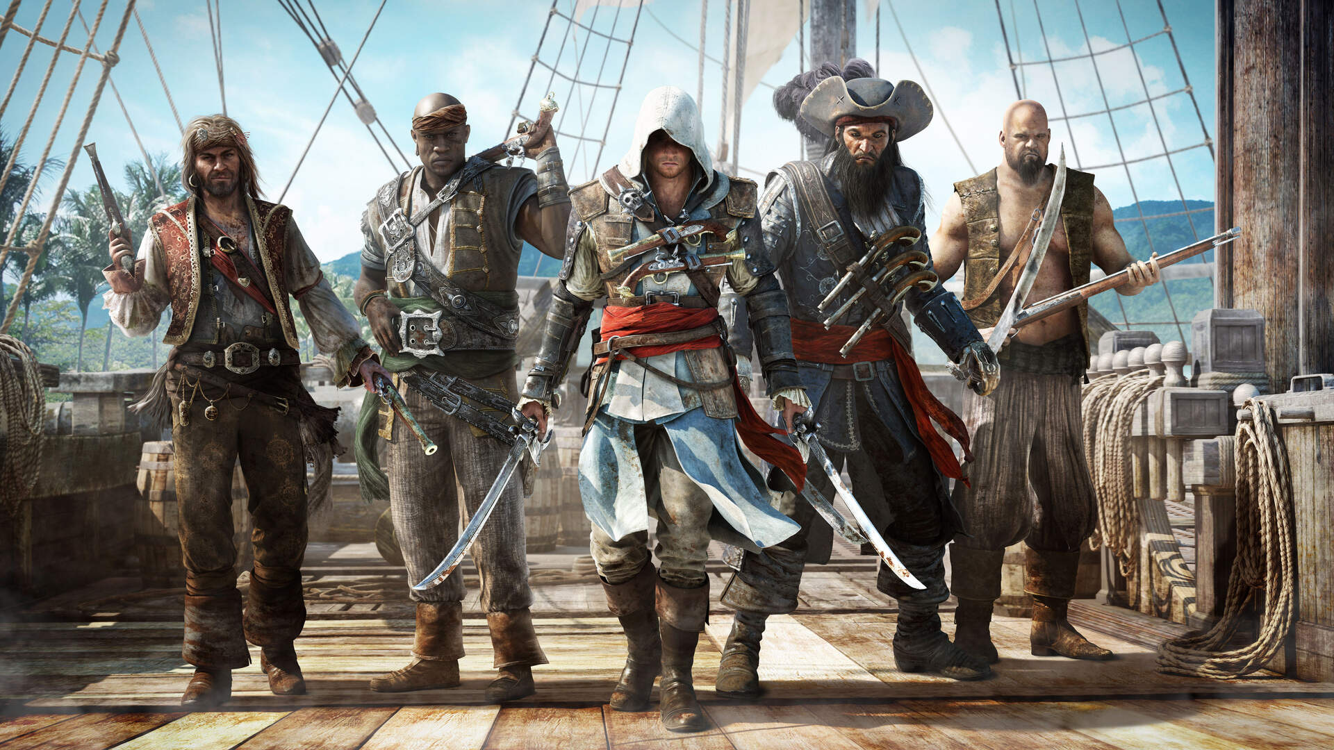 "Assassin's Creed IV Hands-On: Ubisoft's ""Juggernaut"" Heads Out to Sea"