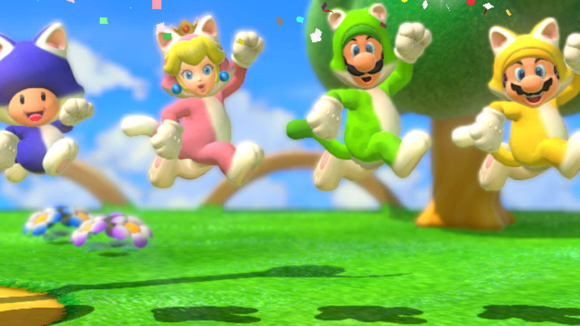 Super Mario 3d World Four Players Four Opinions Usgamer