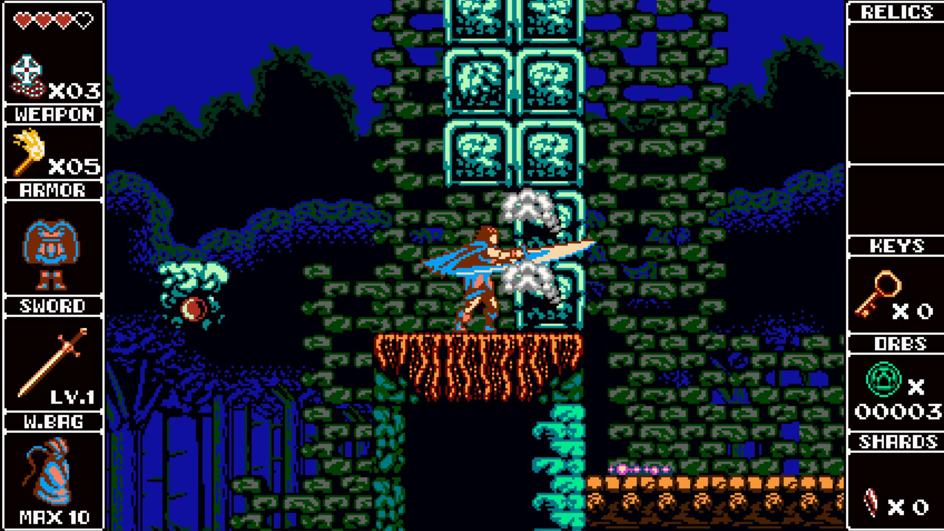 Odallus: The Dark Call Bringing Back 8-Bit Exploration | USgamer
