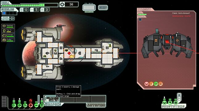 FTL's adventures are confined to the interior of a spaceship, albeit with the freedom of interstellar travel.