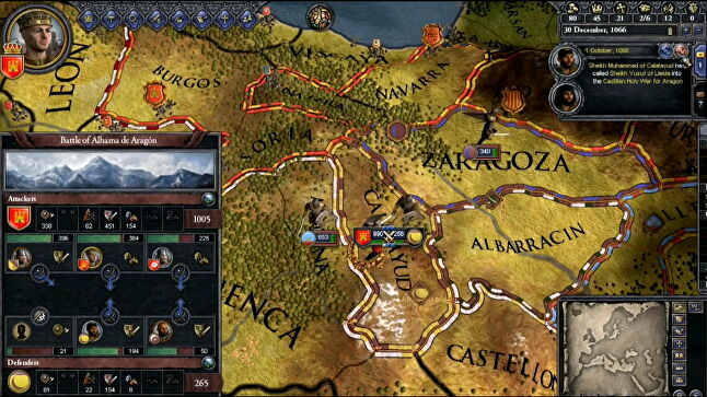 Crusader Kings II is a overwhelming deluge of information, statistics and complex rules of medieval succession. Get past that, though, and you'll find yourself utterly engrossed.