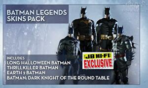 In Related News Aussie Retailer JB Hi Fi Has Revealed The Batman Legends Skins Pack Which Contains Long Halloween Thrillkiller