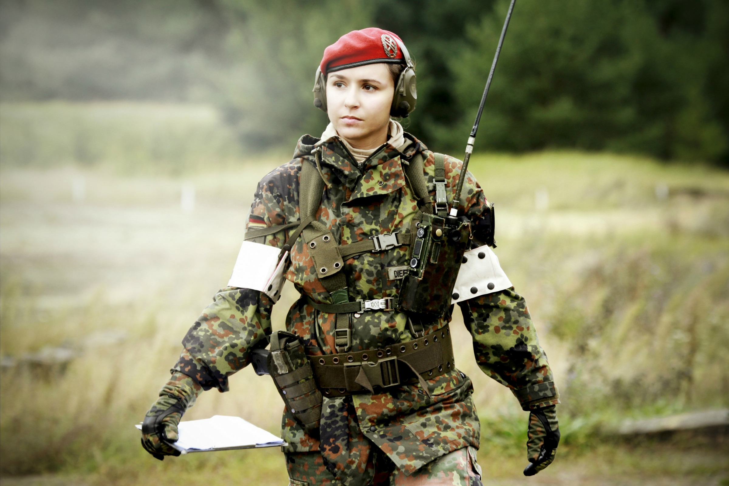 Sexy female army