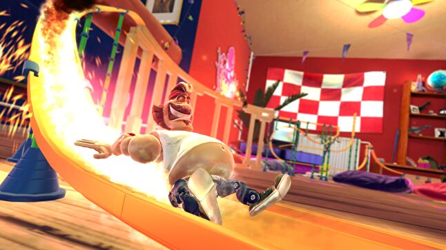 As well as its own stable, Devolver also offered exhibition space to other indies like Action Henk, from RageSquid.