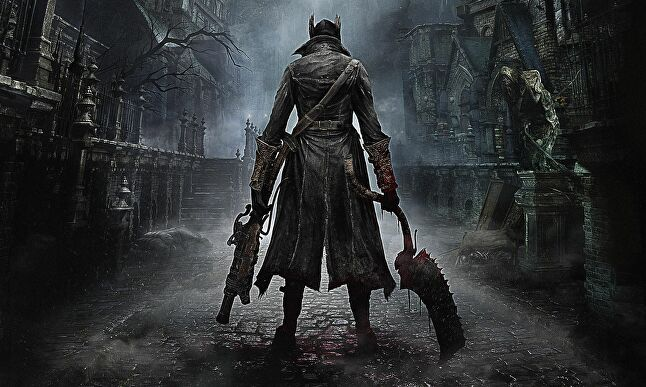 Bloodborne, a PS4 exclusive announced at E3 that you won't be able to buy for some time...
