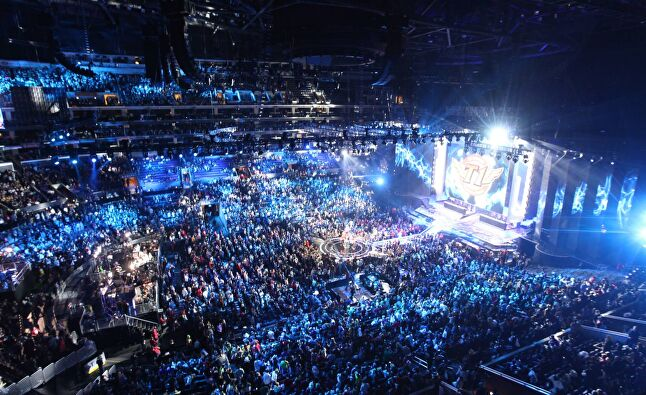 As well as selling out some of the world's biggest venues, events like the LoL World championships attract online audiences well into the tens of millions.