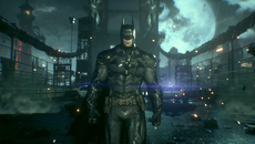 Rocksteady's modified Unreal Engine 3 goes far beyond what was possible on PS3 and Xbox 360. Batman: Arkham Knight's level of world detail is tailor-built for newer consoles. All of these shots are direct PS4 screen grabs.