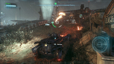 Particle effects are in abundance during the game's tanks battles, with each particle lit individually.