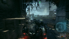 Most building corners, pillars and objects across Gotham City are destructible via Nvidia's PhysX tech.