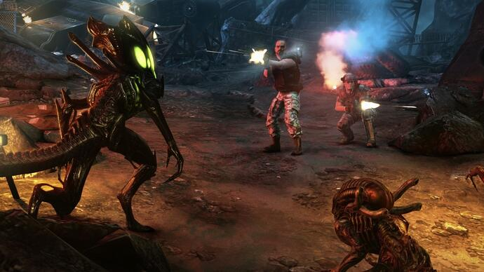 Aliens: Colonial Marines has been patched on Xbox 360, PS3