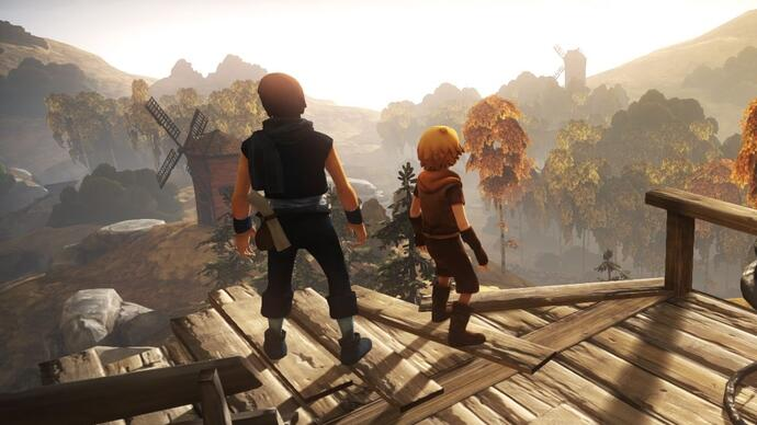 Brothers: A Tale of Two Sons shows off gameplay, unique control scheme