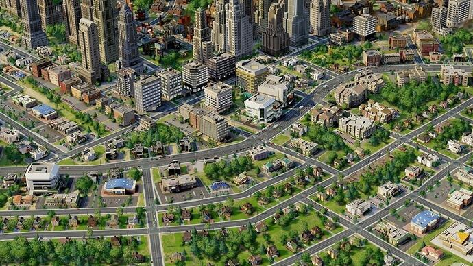 SimCity update 1.7 released, includes traffic congestion improvements