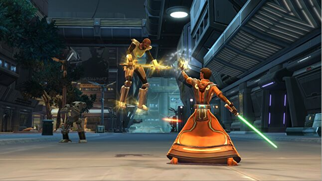 SWTOR shouldn't be blamed for Riccitiello's departure, Zeschuk says