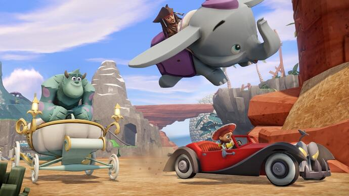 Disney Infinity trailer shows off Toy Boxmode