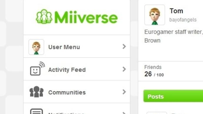 Nintendo launches web-based Miiverse for PC andsmartphones
