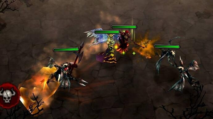 Spicy Horse announces card combat RTS hybrid HellInvaders