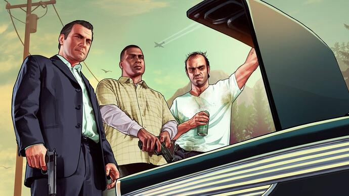 Grand Theft Auto 5 shown off in three newtrailers