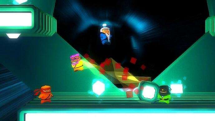 Competitive platformer Atomic Ninjas announced for PS3 and Vita
