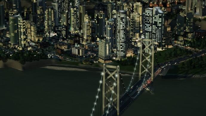 SimCity update 4.0 adds a new park and a new region - but doesn't increase the city size