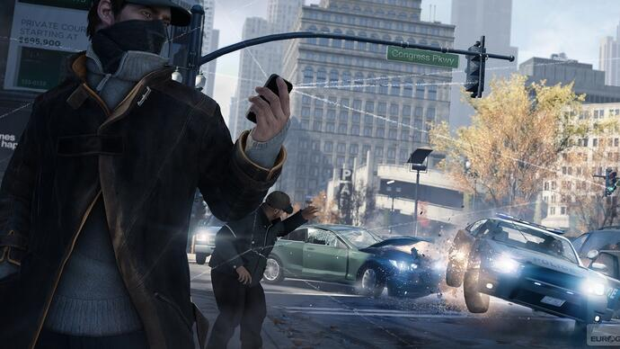 Ubisoft's fancy pants Watch Dogs E3 CGI trailer leaks ahead of press conference