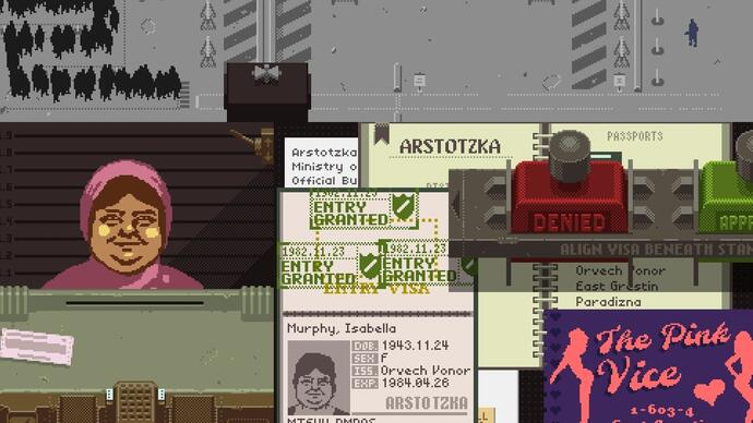 Dystopian document thriller Papers, Please launches next week onSteam