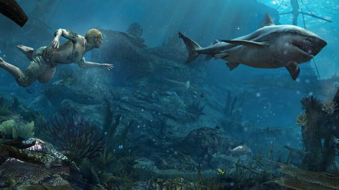 Submerge yourself in Assassin's Creed 4's underwater gameplay