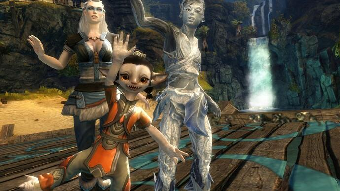 """Guild Wars 2 """"the most-updated online world in theindustry"""""""