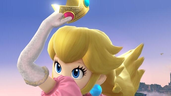 Peach confirmed for Super Smash Bros. Wii U/3DS