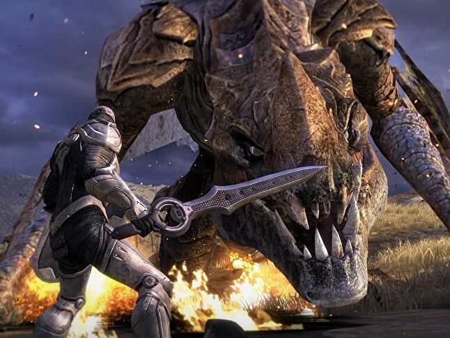 Infinity Blade games take more time and money to make each time out.