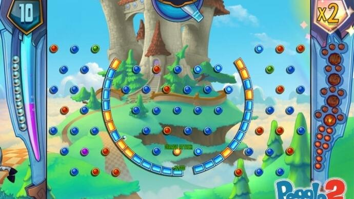 This is what timed Xbox One exclusive Peggle 2 looks like
