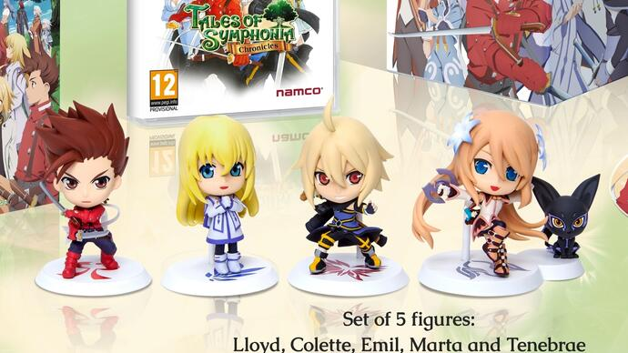 Tales of Symphonia Chronicles release date, Collector's Edition confirmed forEurope