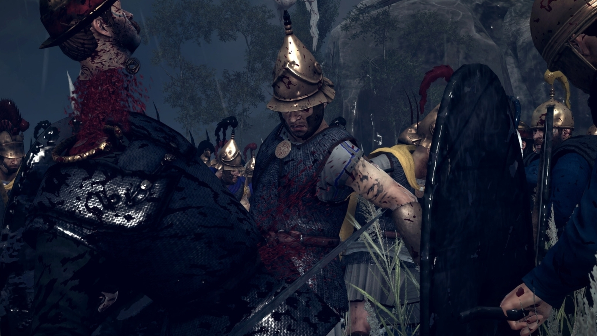 Why Total War: Rome 2 blood and gore is DLC